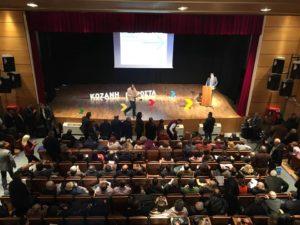 Β. Σημανδράκος: «Η Κοζάνη μπορεί να πάει μπροστά» – Σε κατάμεστη αίθουσα η πρώτη παρουσίαση του υποψηφίου Δημάρχου (φωτο-video)