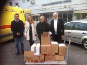 400 βιβλία για την Παιδιατρική Κλινική του Μαμάτσειου Νοσοκομείου Κοζάνης