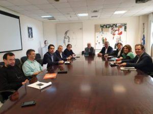 Συνάντηση των Βουλευτών της Δυτικής Μακεδονίας του ΣΥΡΙΖΑ με τον Υπουργό Παιδείας για τη συγχώνευση του Πανεπιστημίου με το ΤΕΙ Δυτ. Μακεδονίας