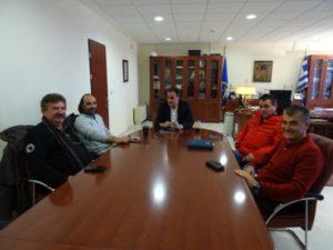 Συνάντηση Προέδρων Κοινοτήτων της Π.Ε. Γρεβενών με τον Περιφερειάρχη