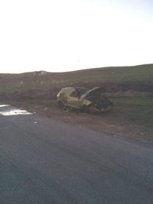Τροχαίο ατύχημα στο Βατόλακκο Γρεβενών
