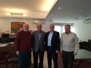 Συνάντηση με τον Υπουργό Παιδείας είχε ο Βουλευτής του ΣΥΡΙΖΑ Χρήστος Μπγιάλας