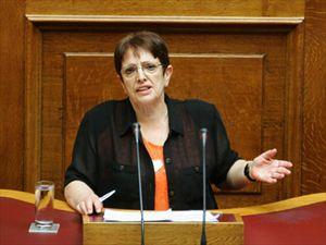 ΚΚΕ Γρεβενών: Ομιλία της Αλέκας Παπαρήγα στη βουλή για τον Γρηγόρη Λαμπράκη και τον Κώστα Τσαρουχά