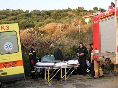 Θανατηφόρο τροχαίο ατύχημα στον Πολύμυλο Κοζάνης