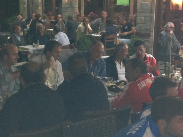 Σαμαρίνα: Γεύμα στην Διοίκηση και στους ποδοσφαιριστές της ομάδας του Τυρνάβου
