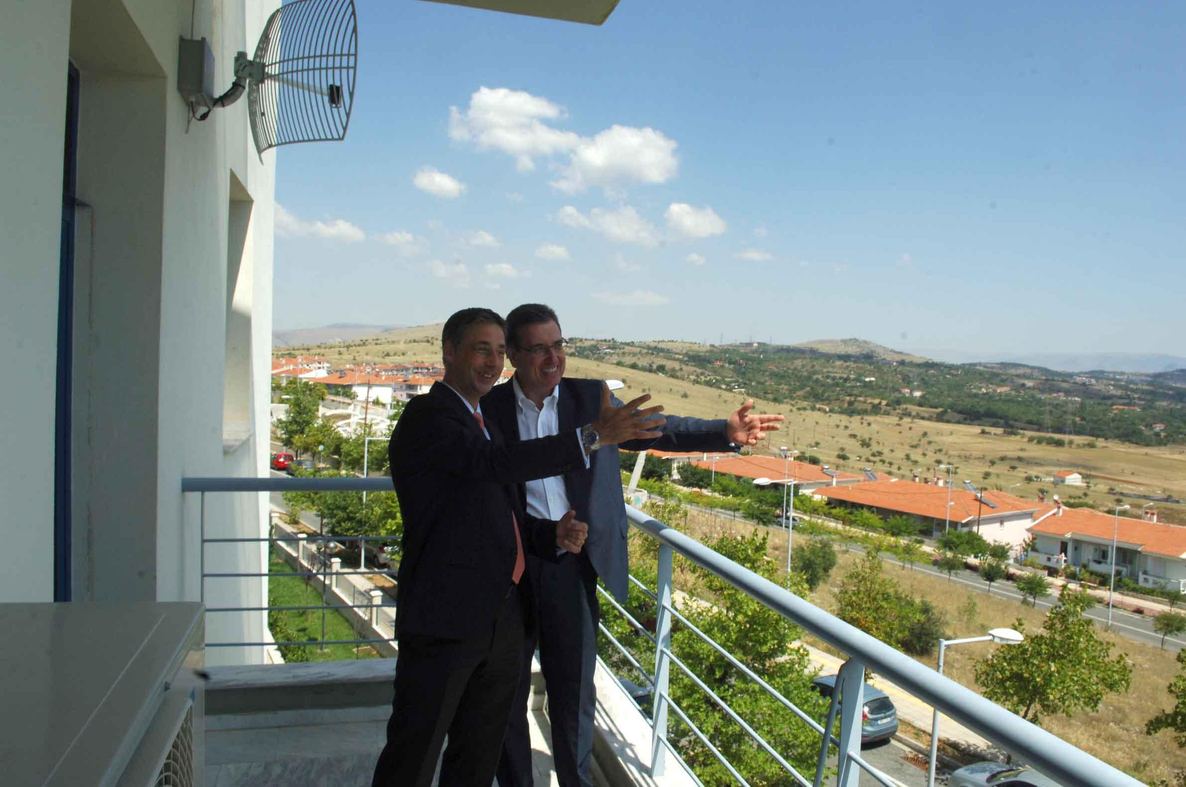 Επίσκεψη των εκπροσώπων της ΤΑΡ τιυ φυσικού αερίου στον κ. Γ. Δακή