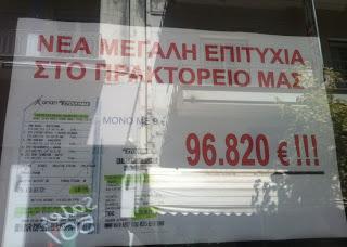 Κοζανίτης κέρδισε 96.820 ευρώ στο στοίχημα, με δελτίο των 9 ευρώ (Φώτο)
