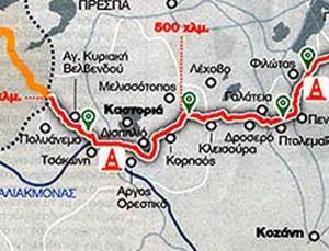 Δείτε από περιοχές της Δυτικής Μακεδονίας θα περάσει ο αγωγός ΤΑΡ (χάρτης)