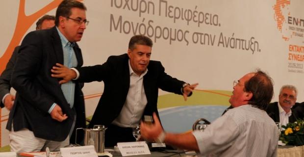 Ο Περιφερειάρχης Δυτικής Μακεδονίας Γ.Δακής με πολλά νεύρα…