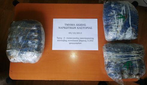 Συλλήψεις σε Αμύνταιο και Καστοριά για κατοχή κάνναβης
