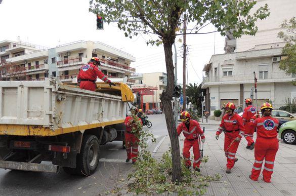 Η Ελληνική Ομάδα Διάσωσης σε εθελοντική δράση καθαρισμού σηματοδοτών