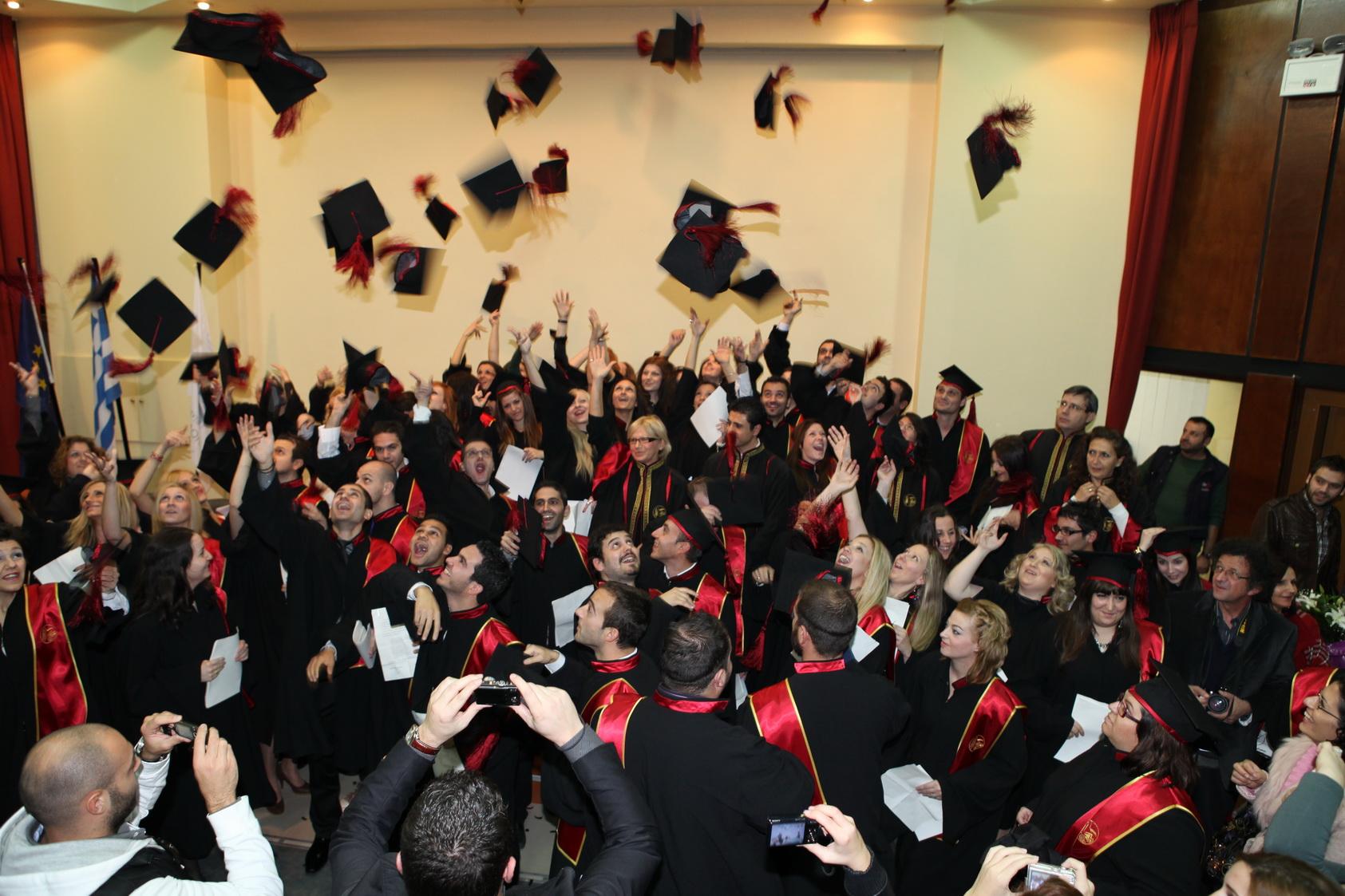 Τελετή ορκωμοσίας των αποφοίτων των Τμημάτων της Σχολής Διοίκησης & Οικονομίας του ΤΕΙ Δυτ. Μακεδονίας