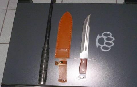 Φλώρινα: Συνελήφθη Βούλγαρος με δύο πτυσσόμενα μαχαίρια