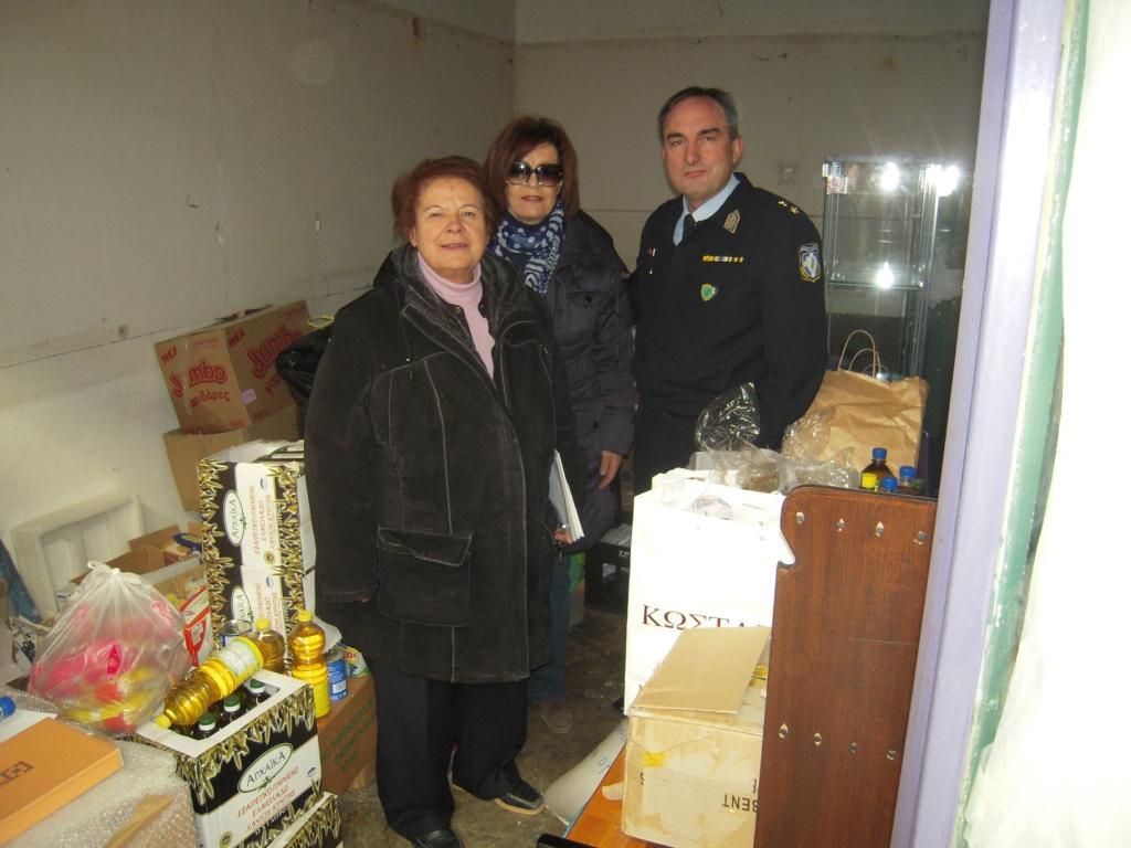 """Δώρα από την Αστυνομική Διεύθυνση Γρεβενών στο Σύλλογο Γρεβενών """"ΕΛΠΙΔΑ"""""""