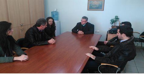 Επίσκεψη της Ενωτικής Κίνησης Οικονομολόγων Δυτικής Μακεδονίας στη ΔΟΥ Κοζάνης