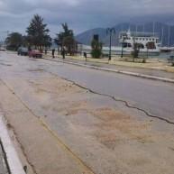 Οι πρώτες εικόνες μετά τον ισχυρό σεισμό στην Κεφαλλονιά (video)
