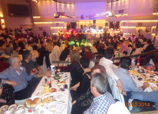 """Πραγματοποιήθηκε ο ετήσιος χορός του συλλόγου Γρεβενιωτών Κοζάνης """"Ο Αιμιλιανός"""""""