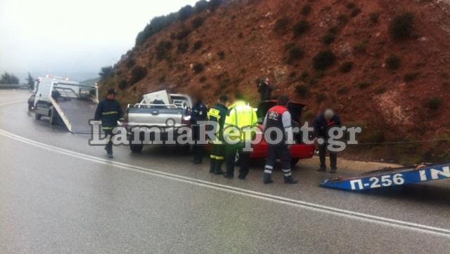 """Φθιώτιδα: Τραυματίστηκε ο Μητροπολίτης Γρεβενών σε τροχαίο στην """"Καμηλόβρυση"""""""