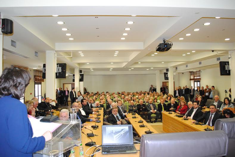 Ομιλία της Γεωργίας Ζεμπιλιάδου υποψήφια Περιφερειάρχης Δυτικής Μακεδονίας  με το συνδυασμό ΕΛΠΙΔΑ (video)
