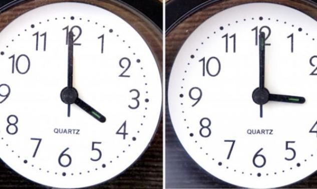 Αλλάζει η ώρα! Μια ώρα μποστά τα ρολόγια