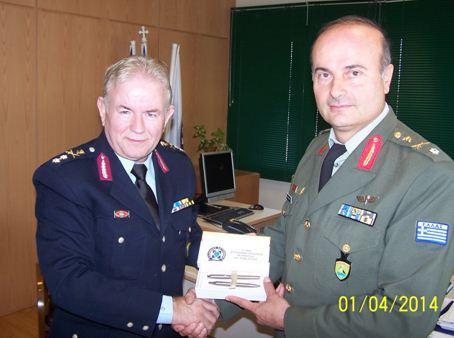 Συνάντηση του κ. Γενικού Αστυνομικού Διευθυντή Περιφέρειας Δυτικής Μακεδονίας με το Διοικητή της 9ης Ταξιαρχίας