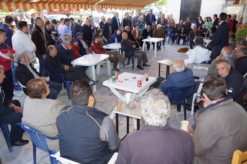 Τις τοπικές κοινότητες Ελευθέρου Α,΄ Ελευθέρου  Β΄, Απροκάμπου, Μυρσίνης και Βατολάκκου επισκέφθηκε το απόγευμα της Δευτέρας ο Υποψήφιος Δήμαρχος Γρεβενών κ.Γ.Δασταμάνης – Δείτε Φωτογραφίες
