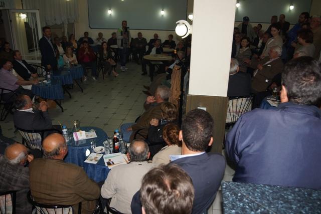 Ο Γιώργος Δασταμάνης επισκέφθηκε τα χωριά Μαυραναίους, Δοξαρά, Μικρό και Μεγάλο Σειρήνι.