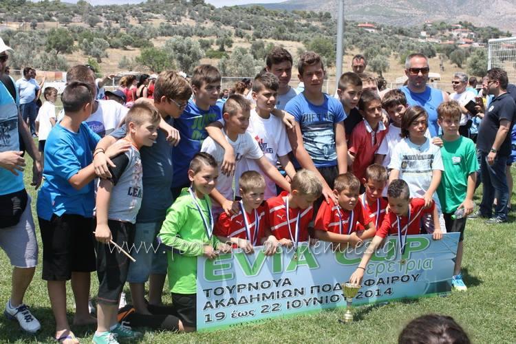 Φωτογραφίες ακαδημιών Δεσκάτης του τουρνουά EVIA CUP 2014 στην Ερέτρια