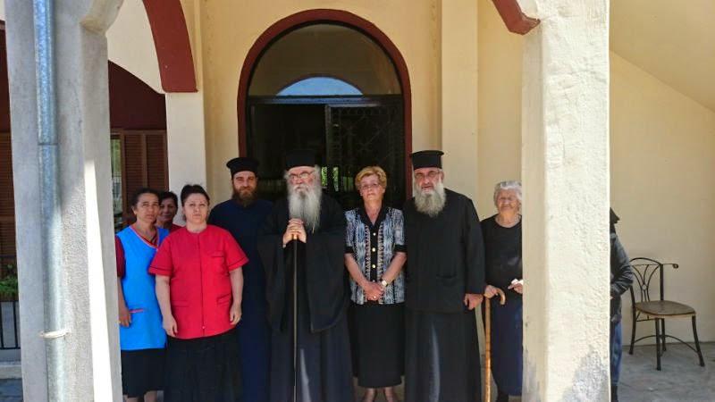 Το Γηροκομείο Γρεβενών επισκέφτηκε ο Σεβασμιώτατος Μητροπολίτης Καστοριάς  κ.Σεραφείμ (Φώτογραφίες)