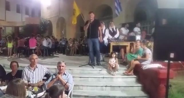 Video: Ο Νέος Αντιπεριφερειάρχης Γρεβενών Βαγγέλης Σημανδράκος Στις Πολιτιστικές Εκδηλώσεις της Δεσκάτης