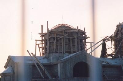 Ευχαριστήριο προς τον Αντιπεριφερειάρχη και νυν Δήμαρχο Γρεβενών κ. Γιώργο Δασταμάνη για την επισκευή του Τρούλου και της στέγης της Εκκλησίας του Αγίου Αθανασίου στη Ροδιά