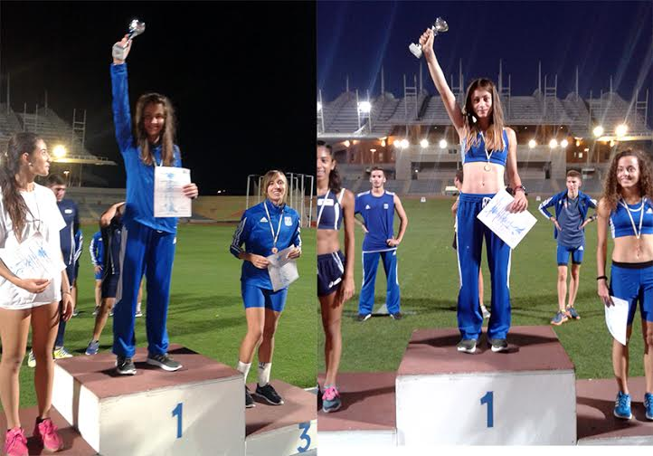 Διεθνής συνάντηση Ελλάδας Κύπρου – Με χρυσά μετάλλια οι Γρεβενώτισσες αθλήτριες Βασιλική Ζωγράφου και Ελένη Κουτσαλιάρη