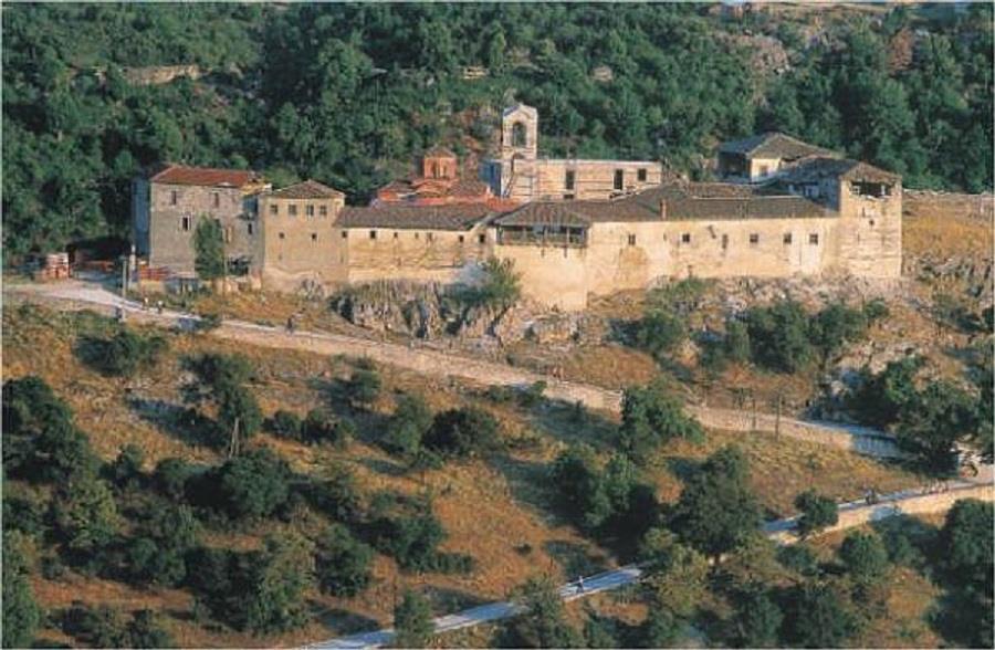 Πανηγυρίζει η Ιερά Μονή της Ζάβορδας