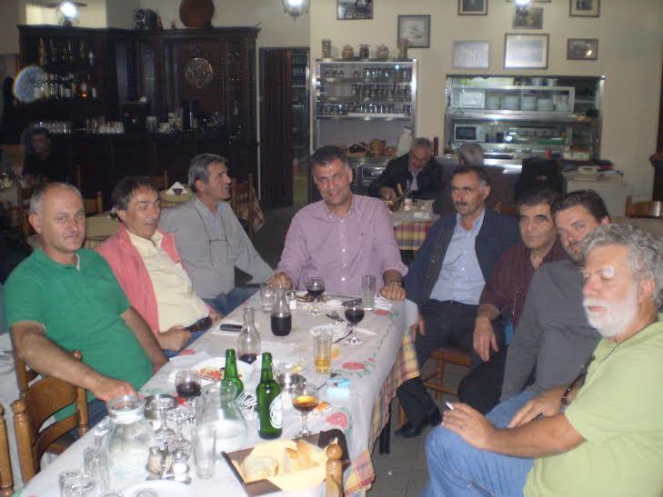 Στη Σαμαρίνα ο νέος αντιπεριφερειάρχης Γρεβενών Βαγγέλης Σημανδράκος