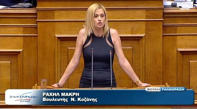Σχόλιο της Κοινοβουλευτικής Εκπροσώπου των Ανεξάρτητων Ελλήνων και Βουλευτού Ν. Κοζάνης κας Ραχήλ Μακρή για τη συνάντηση Σαμαρά – Μέρκελ
