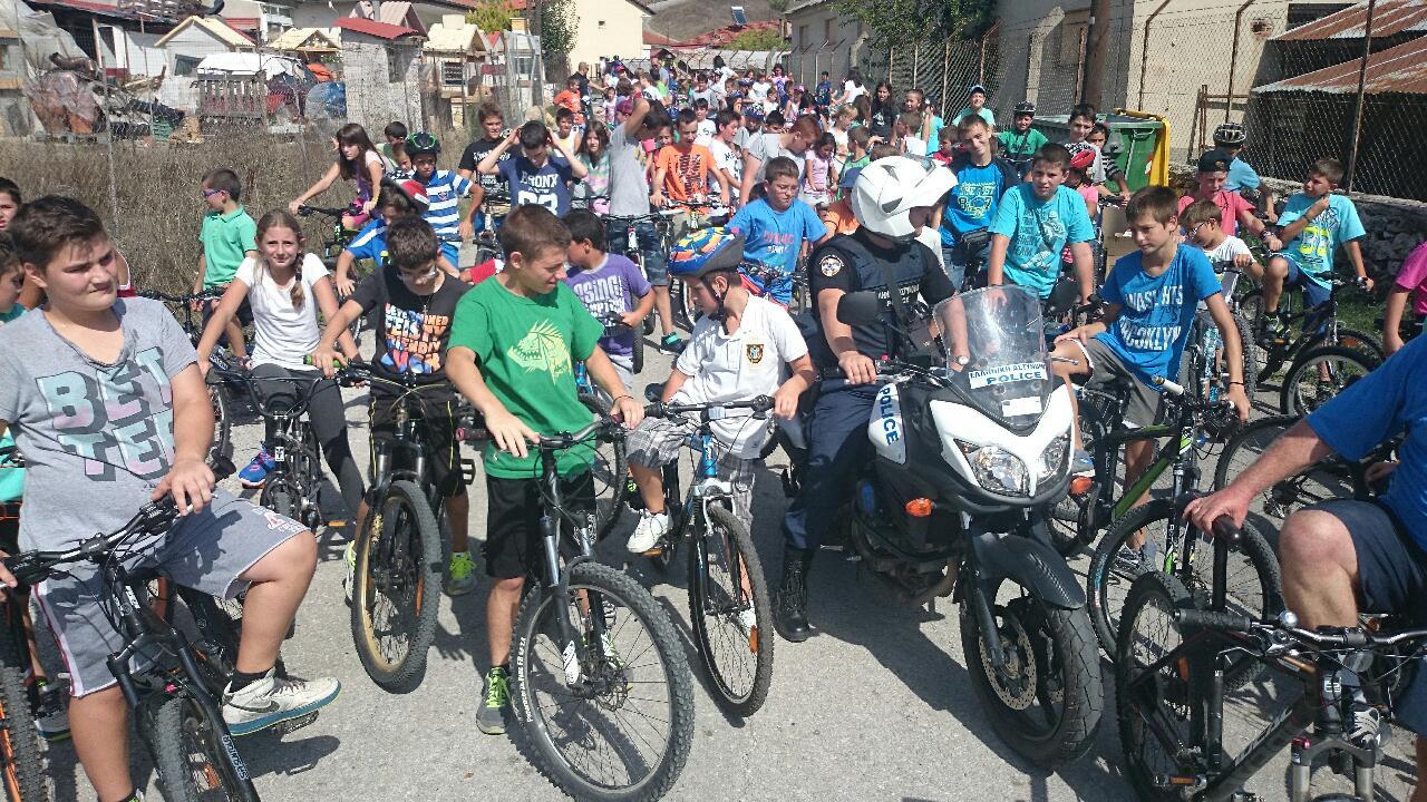 Η Ένωση Ποδηλατιστών Γρεβενών ευχαριστεί