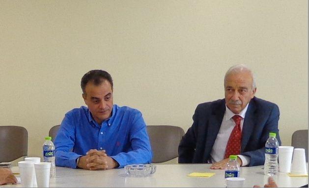 Επίσκεψη του Γενικού Διευθυντή του ΟΠΕΚΕΠΕ Δημήτρη Αρκιτσαίου στον Περιφερειάρχη Δυτικής Μακεδονίας Θεόδωρο Καρυπίδη
