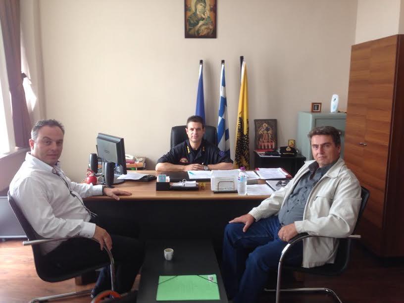 Επαφές του Πολιτικού Προϊσταμένου της Πολιτικής Προστασίας Δυτικής Μακεδονίας Ηλία Κάτανα, με διάφορους φορείς