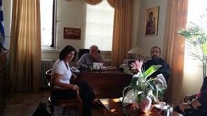 ΣΥΡΙΖΑ : Η Ευγενία Ουζουνίδου με κλιμάκιο στο Δήμο Βοΐου