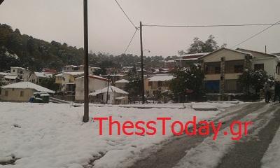 Φωτογραφίες από τα χιονισμένα ορεινά χωριά των Γρεβενών