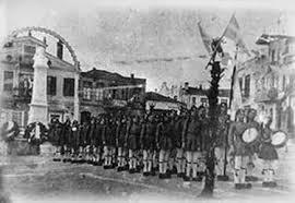 Εκδήλωση στο 4ο Δημοτικό σχολείο Γρεβενών στα πλαίσια του εορτασμού της απελευθέρωσης της πόλης των Γρεβενών