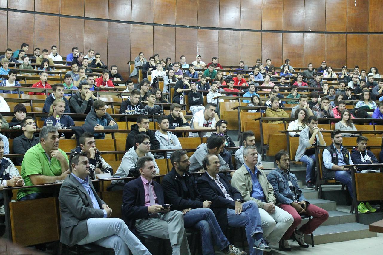 TEI Δ. Μακεδονίας: Ξεχωριστή εκδήλωση υποδοχής στους τετρακόσιους (400) πρωτοετείς φοιτητές (Φωτογραφίες)