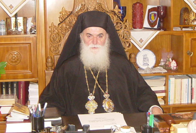 Στα Γρεβενά για την ενθρόνιση του νέου Μητροπολίτη Γρεβενών κ.κ Δαβίδ ο Μητροπολίτης κ. Σεραφείμ