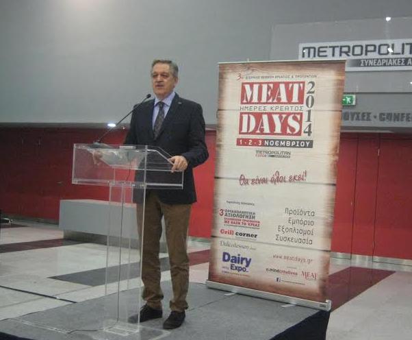 Κουκουλόπουλος: «Βάζουμε φραγμό στις παράνομες ελληνοποιήσεις κρέατος»