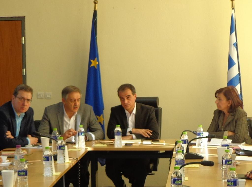 Ευρεία σύσκεψη στην Περιφέρεια: «Αποφασίζουμε εμείς, για εμάς»