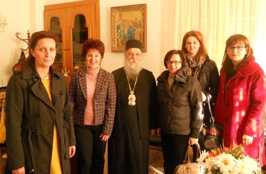 Επίσκεψη του Σωματείου Τριτέκνων στον Μητροπολίτη Γρεβενών