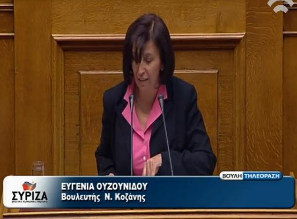 Επιστολή Ευγενίας Ουζουνίδου, βουλευτή του ΣΥΡΙΖΑ Π.Ε. Κοζάνης, προς τον Πρόεδρο του Δ.Σ. της Ομοσπονδίας Γούνας κ. Κοσμίδη Δημήτριο