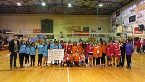 Σάρωσε το 4ο Δημοτικό Σχολείο Γρεβενών στους αγώνες πετοσφαίρισης (φωτογραφίες)