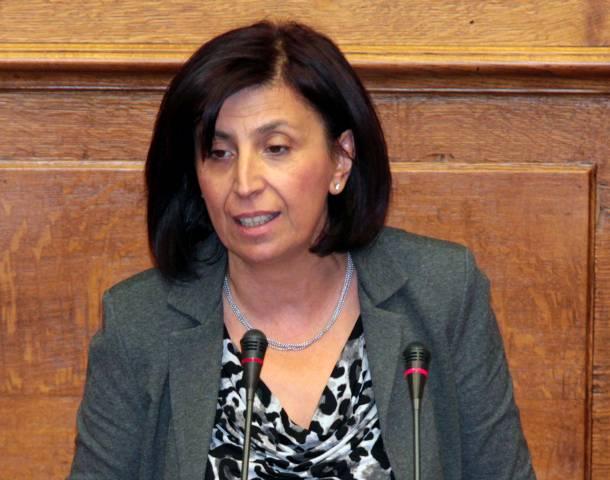 Ευχές της Ευγενίας Ουζουνίδου , βουλευτή του ΣΥΡΙΖΑ Π.Ε Κοζάνης