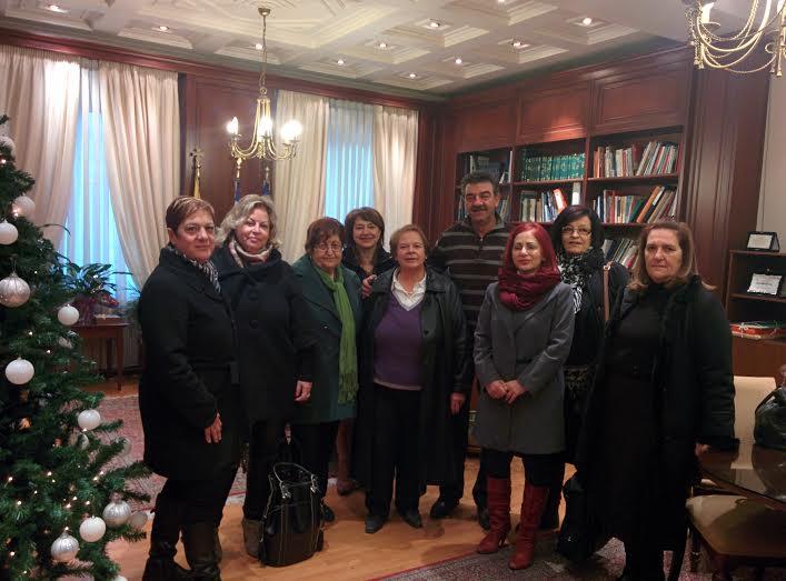 Επίσκεψη από το Διοικητικό Συμβούλιο του Συλλόγου Αλληλεγγύης και Εθελοντισμού «Ελπίδα» στον Δήμαρχο Γρεβενών , Γιώργο Δασταμάνη